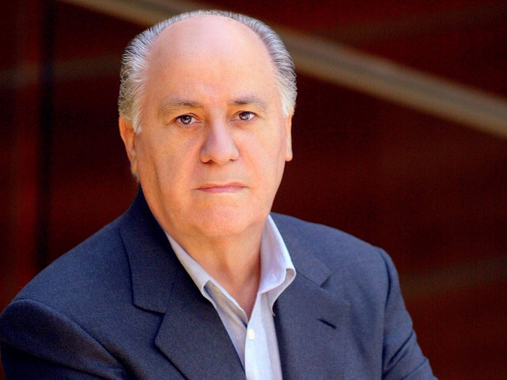 Amancio Ortega top world richest man