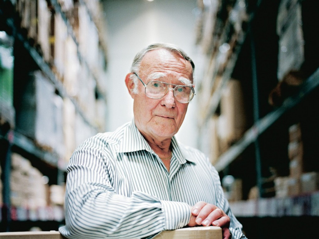 ingvar kamprad top world richest man