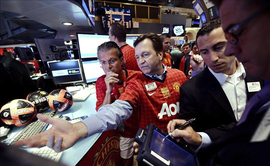 The Glazer family overseeing things on Manchester United performance at the New York stock exchange