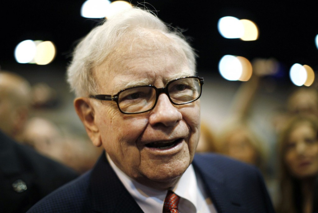 warren buffett top world richest man