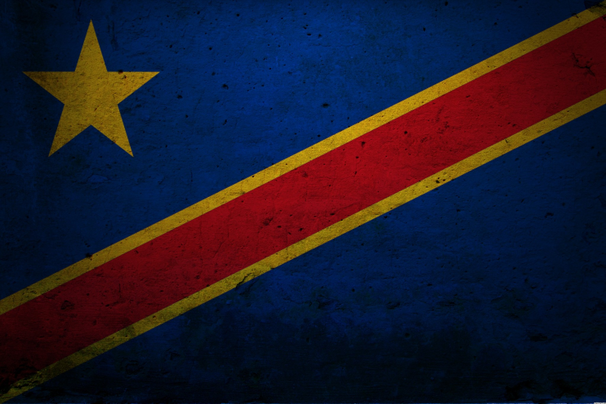 Democratic Republic of Congo flag and wallpaper