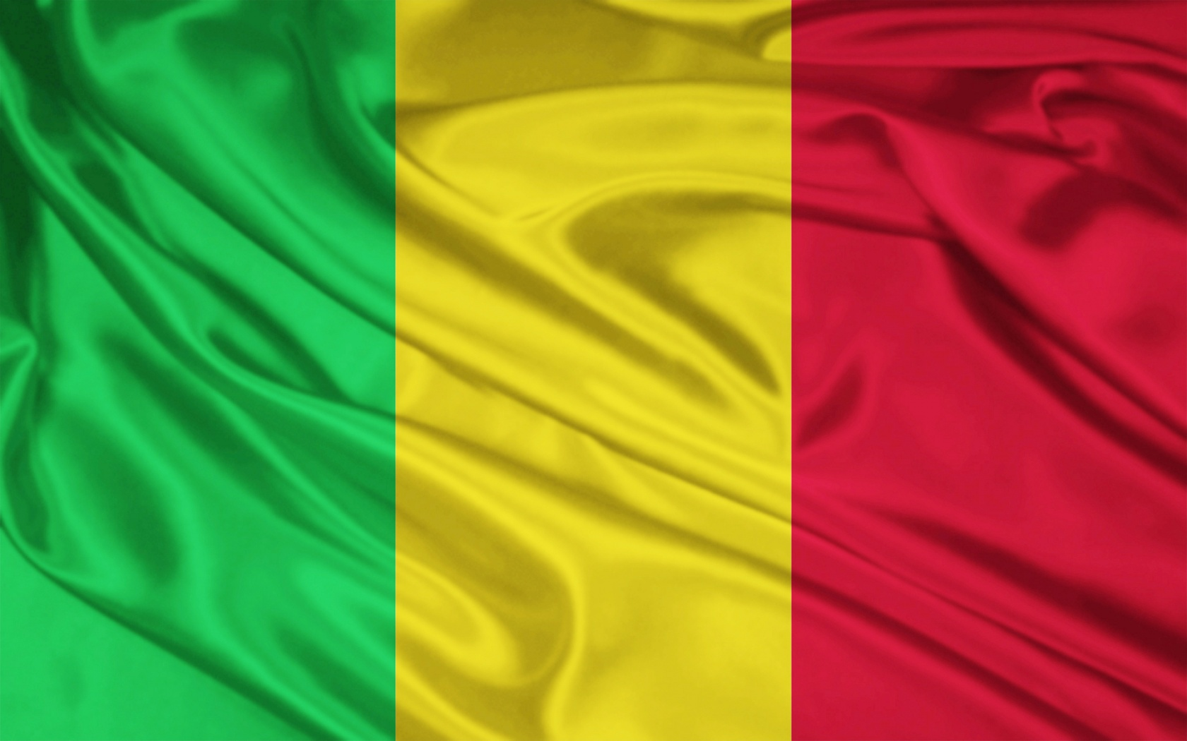 Mali flag and wallpaper