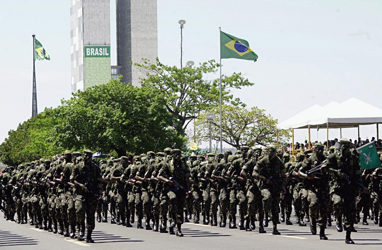 Brazil military army forces
