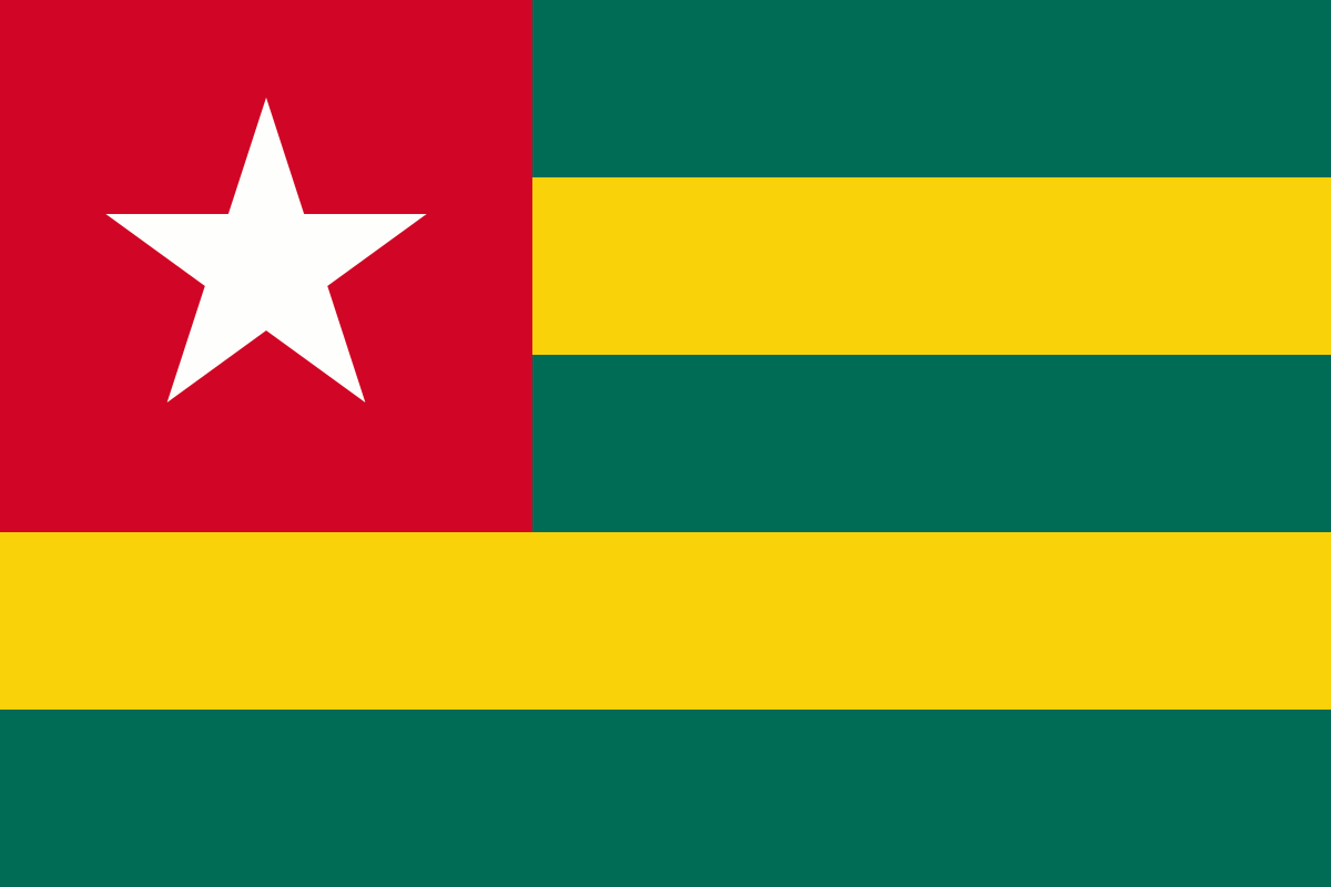 Togo flag and wallpaper