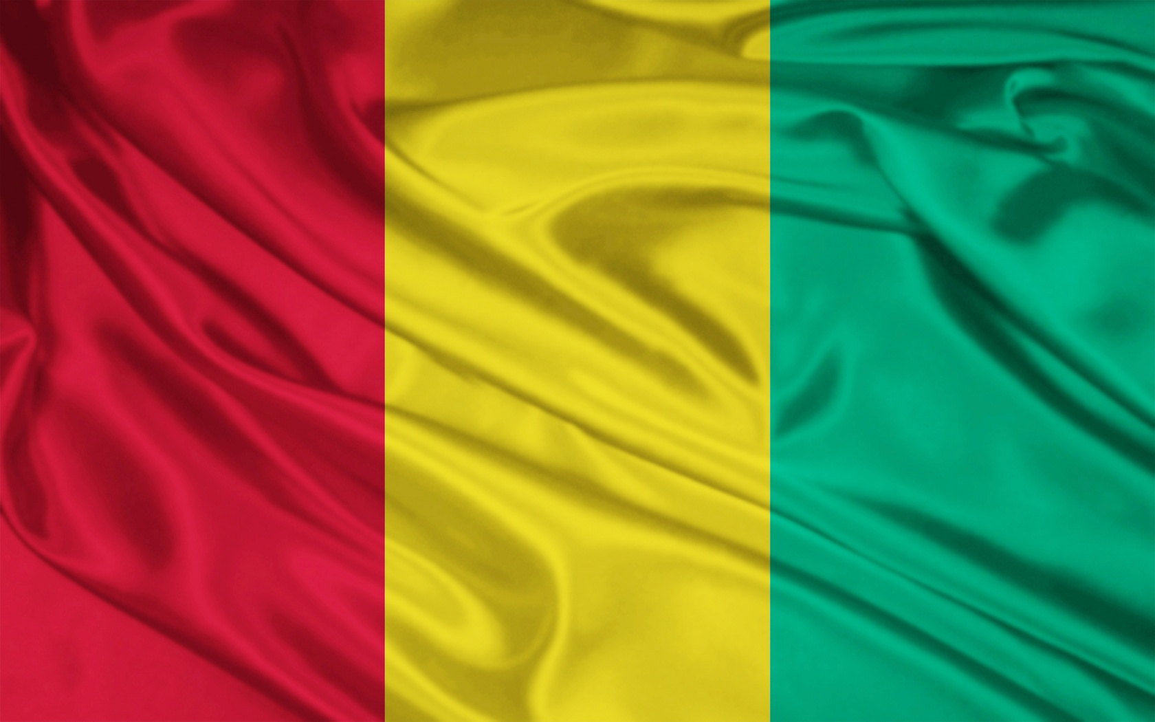Republic of Guinea flag and wallpaper