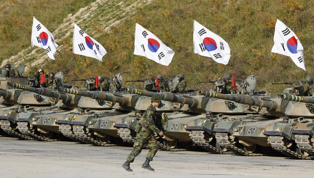 South Korea military army forces