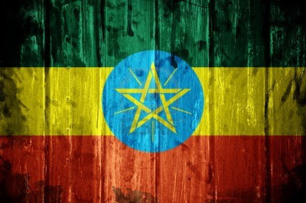 Ethiopia flag and wallpaper