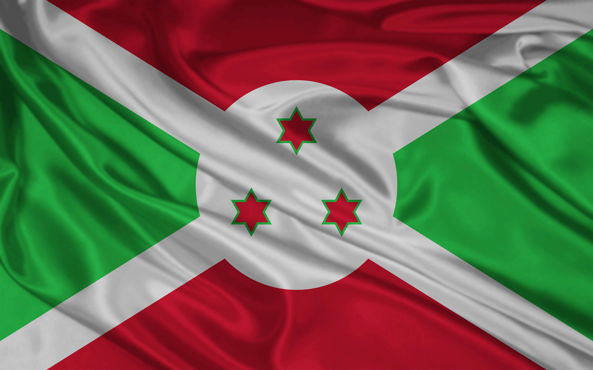 Burundi flag and wallpaper