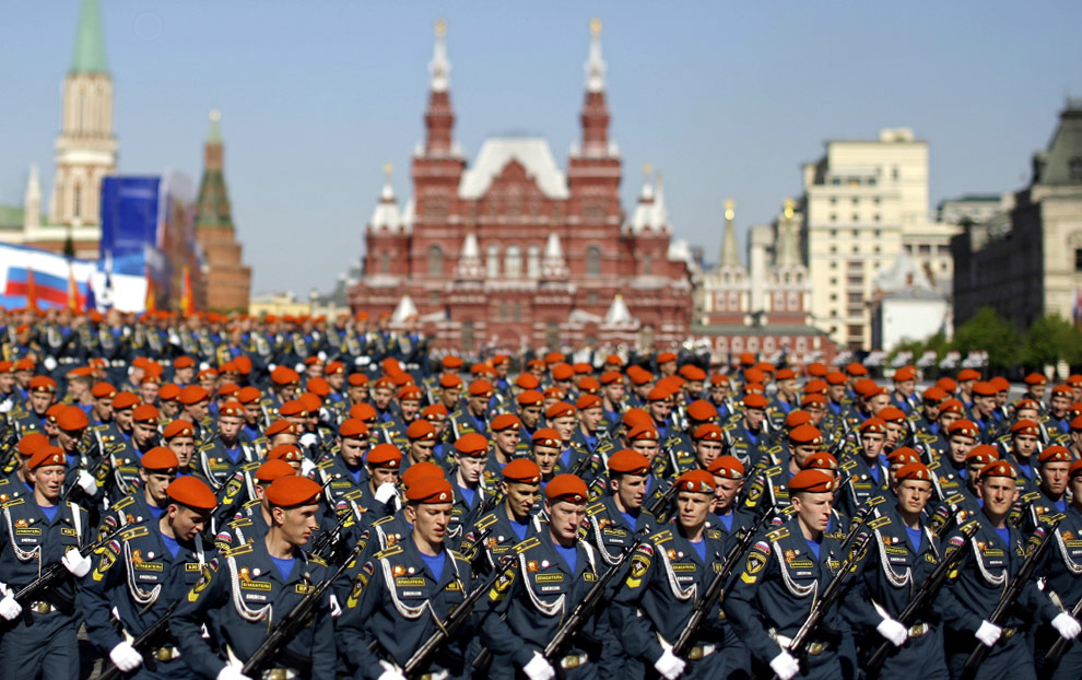 Russia military army forces