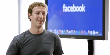 Facebook owner, Mark Zuckerberg in 2013