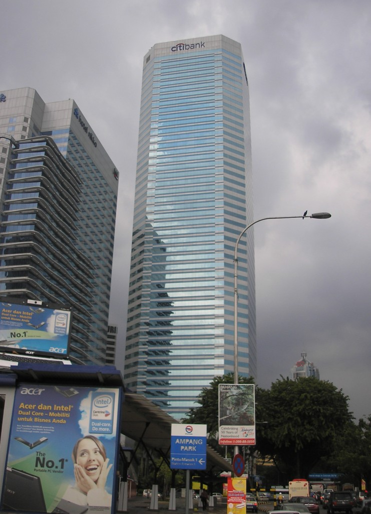 citibank building earnings revenue asia