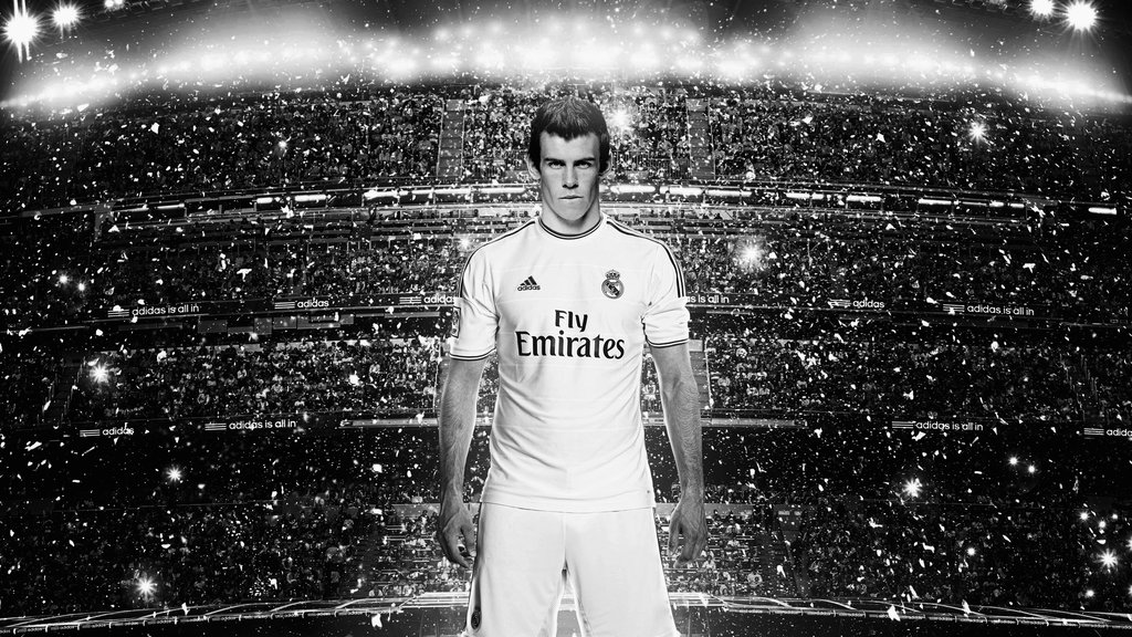 Gareth Bale, Real Madrid new jersey 2013-2014