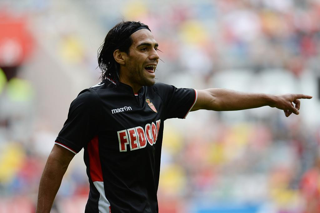 Radamel Falcao, AS Monaco new jersey for 2013-2014
