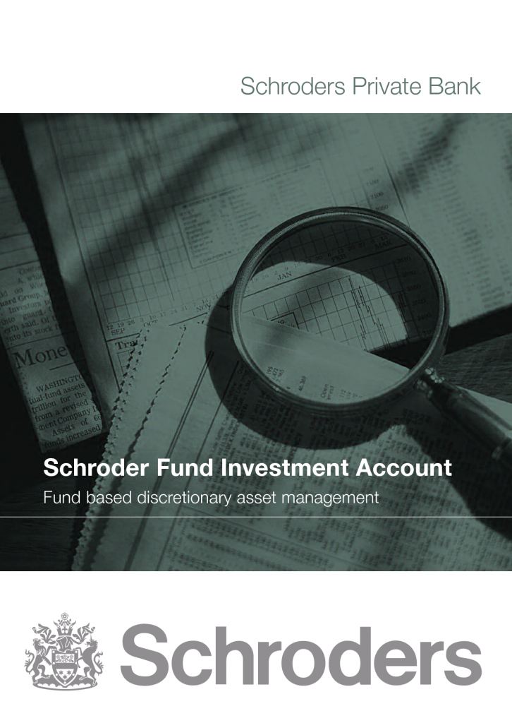schroders mutual fund investment