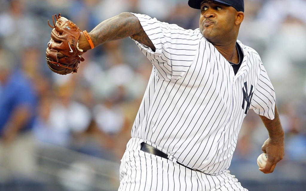 CC Sabathia, New York Yankees starting pitcher wallpaper