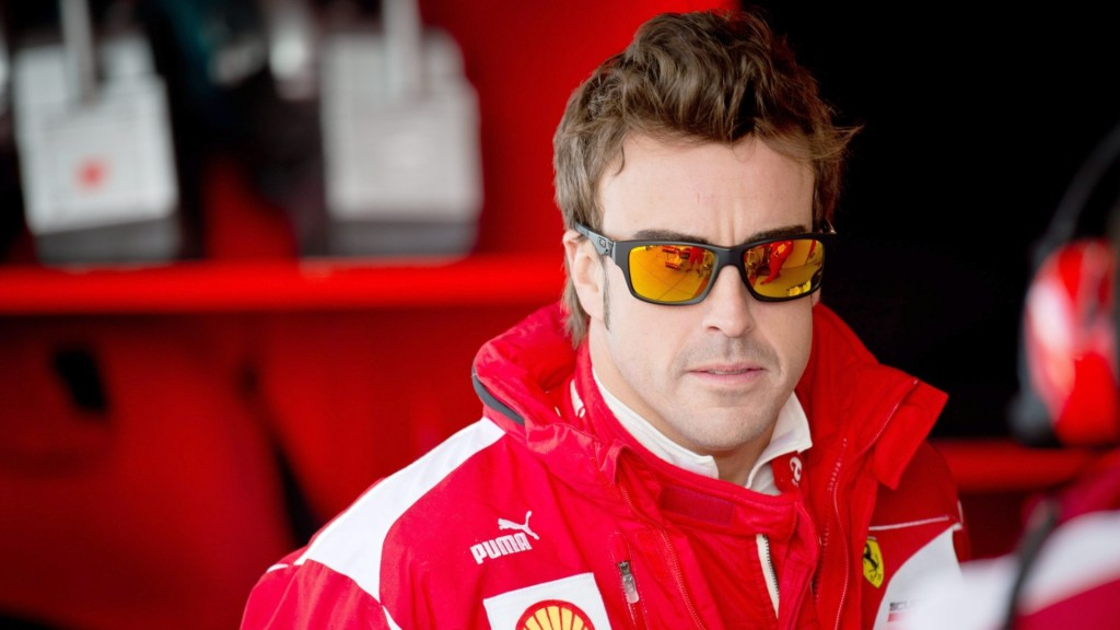 Fernando Alonso, Ferrari F1 car racer, 2013-2014 wallpaper