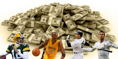 The highest paid salaries for sports athletes in the World, 2013-2014
