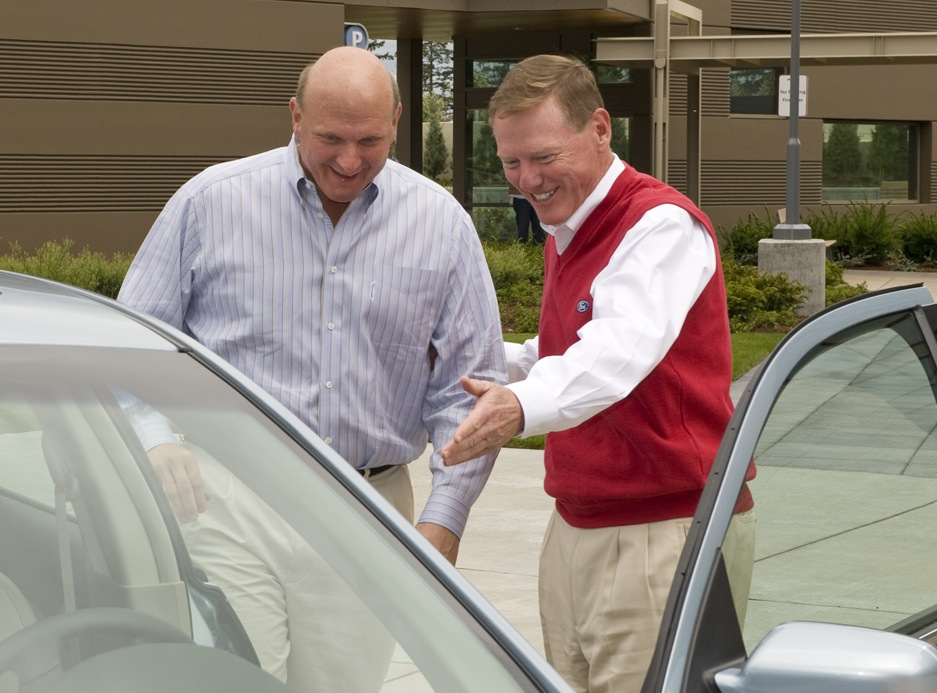Alan Mulally ford steve ballmer microsoft ceo future2