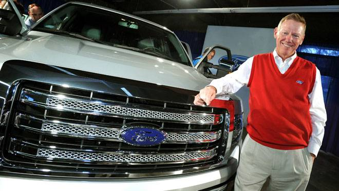 alan mulally ford truck