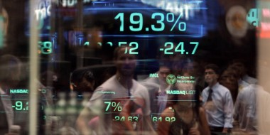 Financial stock markets under stress and fear, wallpaper