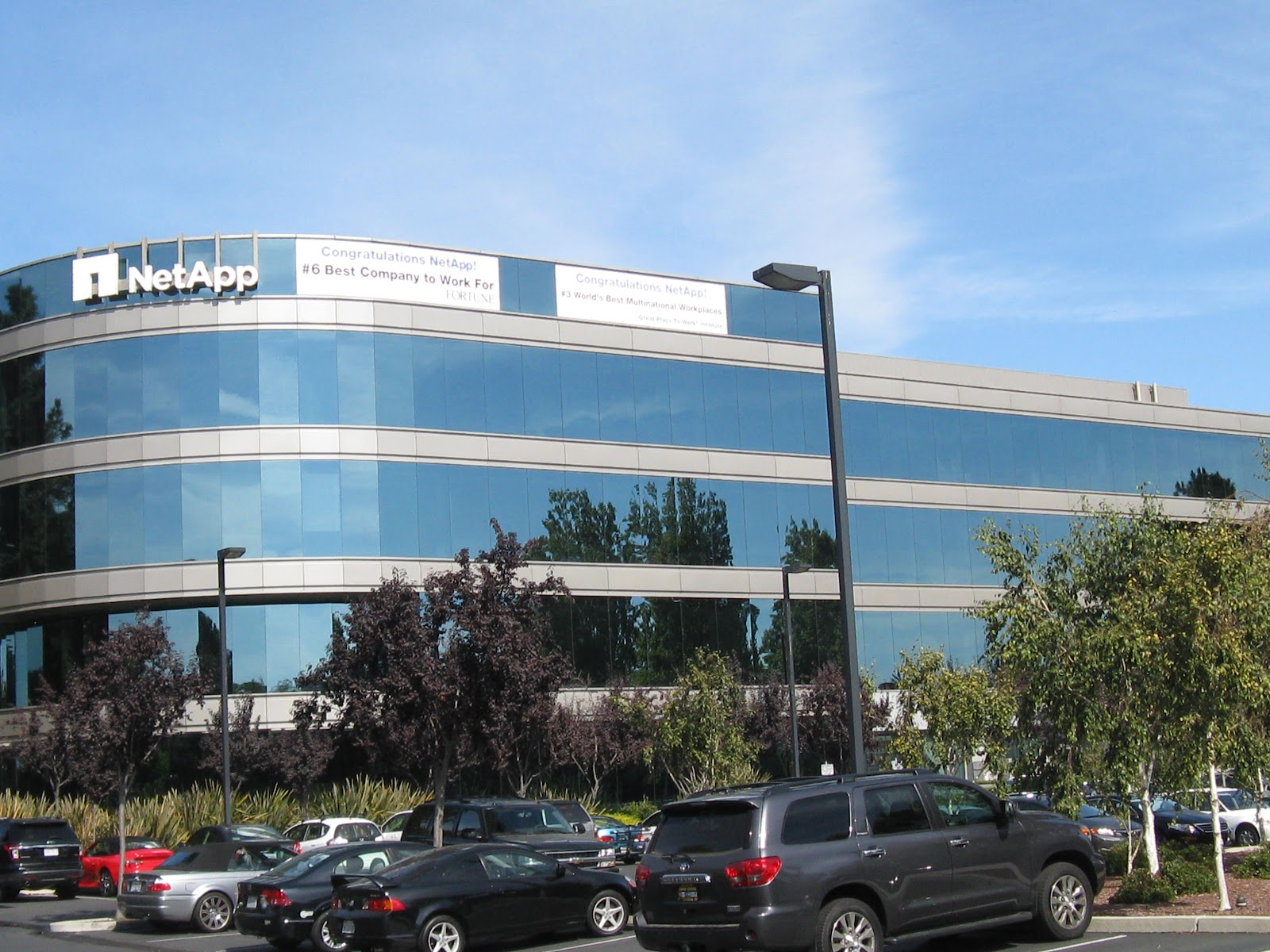 Netapp company headquarters