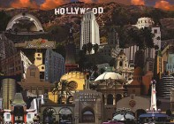 Hollywood wallpaper poster