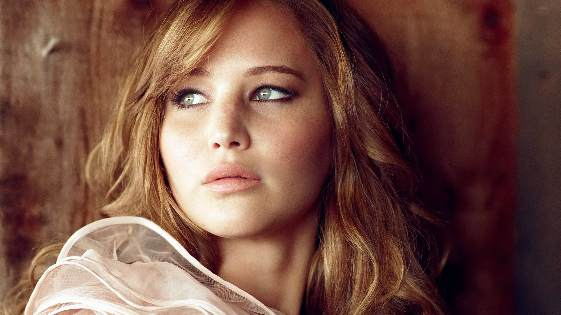 Jennifer Lawrence Hollywood rising star wallpaper