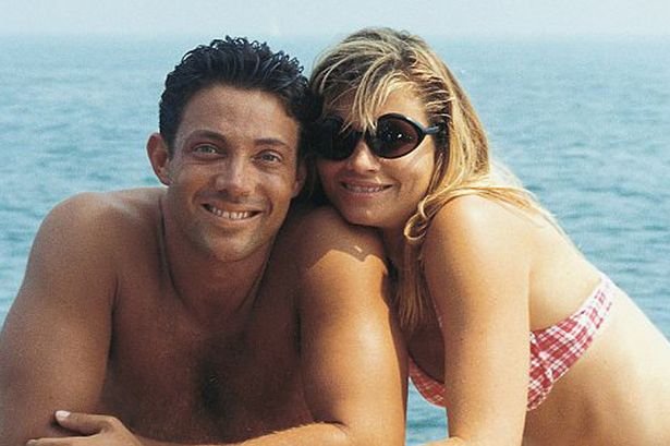 Jordan Belfort and his wife