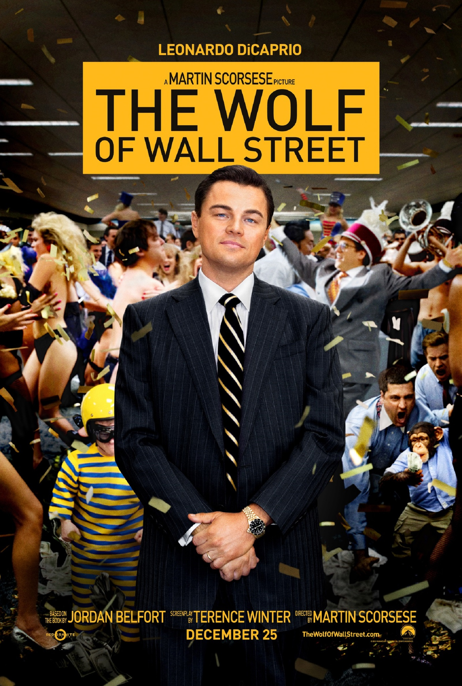 The Wolf of Wall Street movie wallpaper