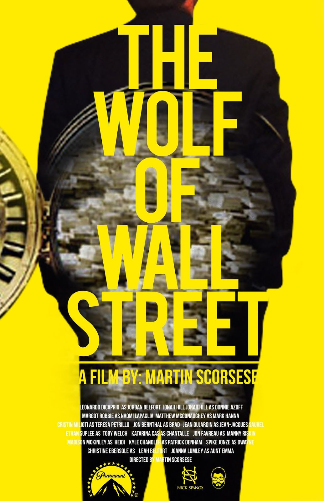 The Wolf of Wall Street, Scorsese's film wallpaper