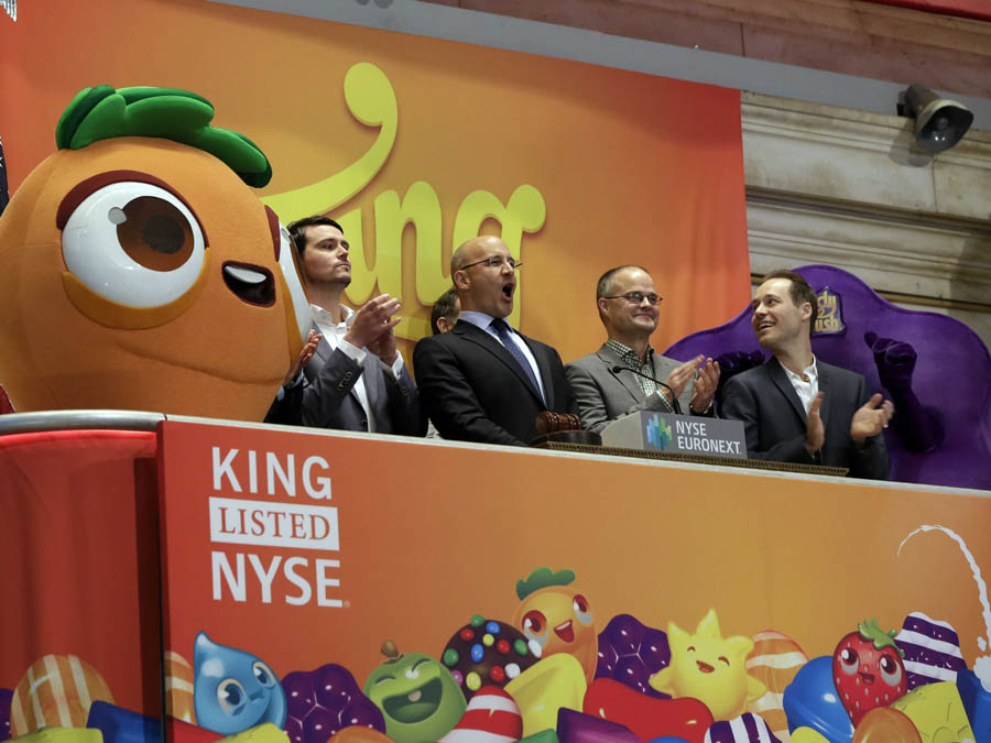 King Digital Entertainment candy crush ipo images nasdaq nyse stocks price value growth technology 2014