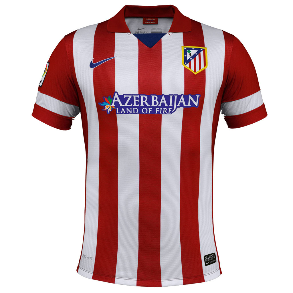 Atletico Madrid jersey shirt 2014