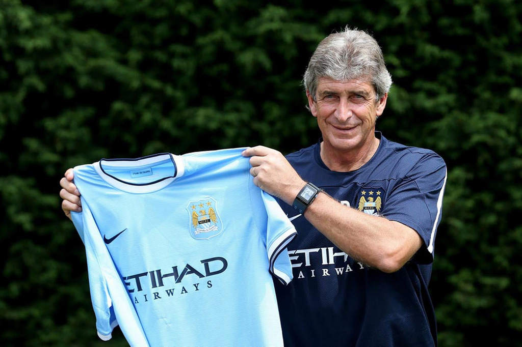 Manuel Pellegrini Manchester City manager