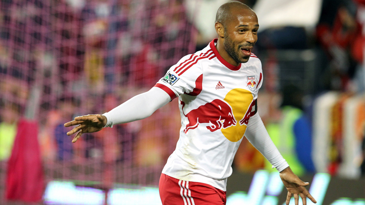 Thierry Henry in New York Red Bulls 2014