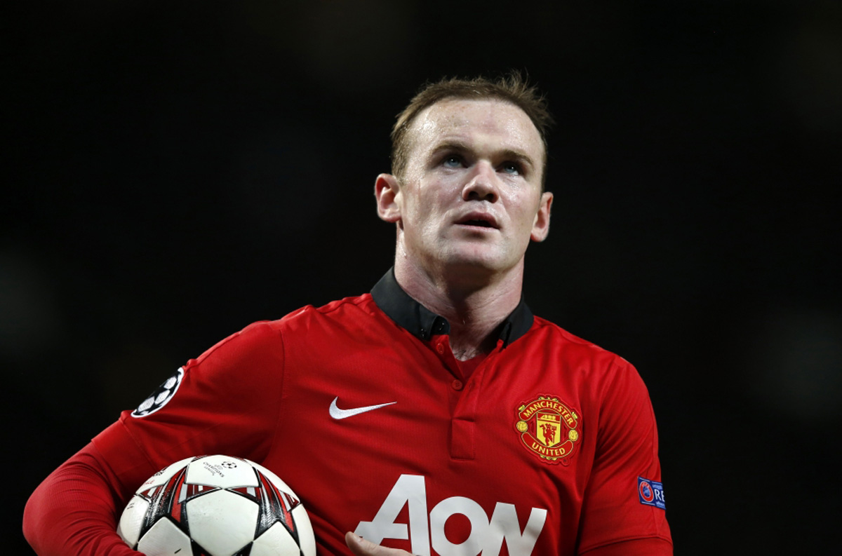 Wayne Rooney in Manchester United 2014
