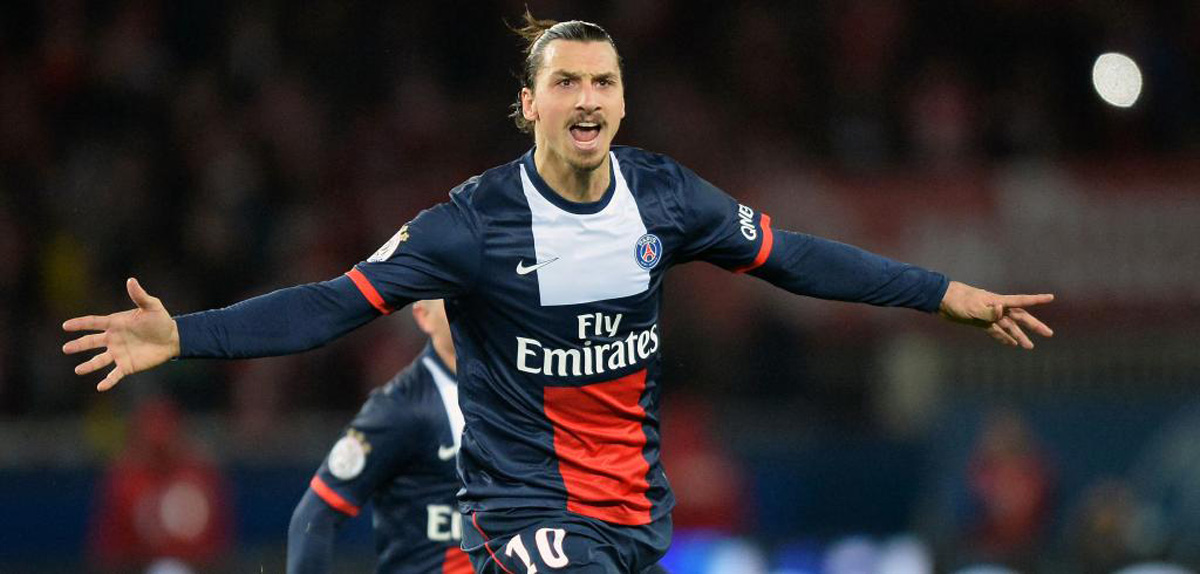 Zlatan Ibrahimovic in PSG 2014