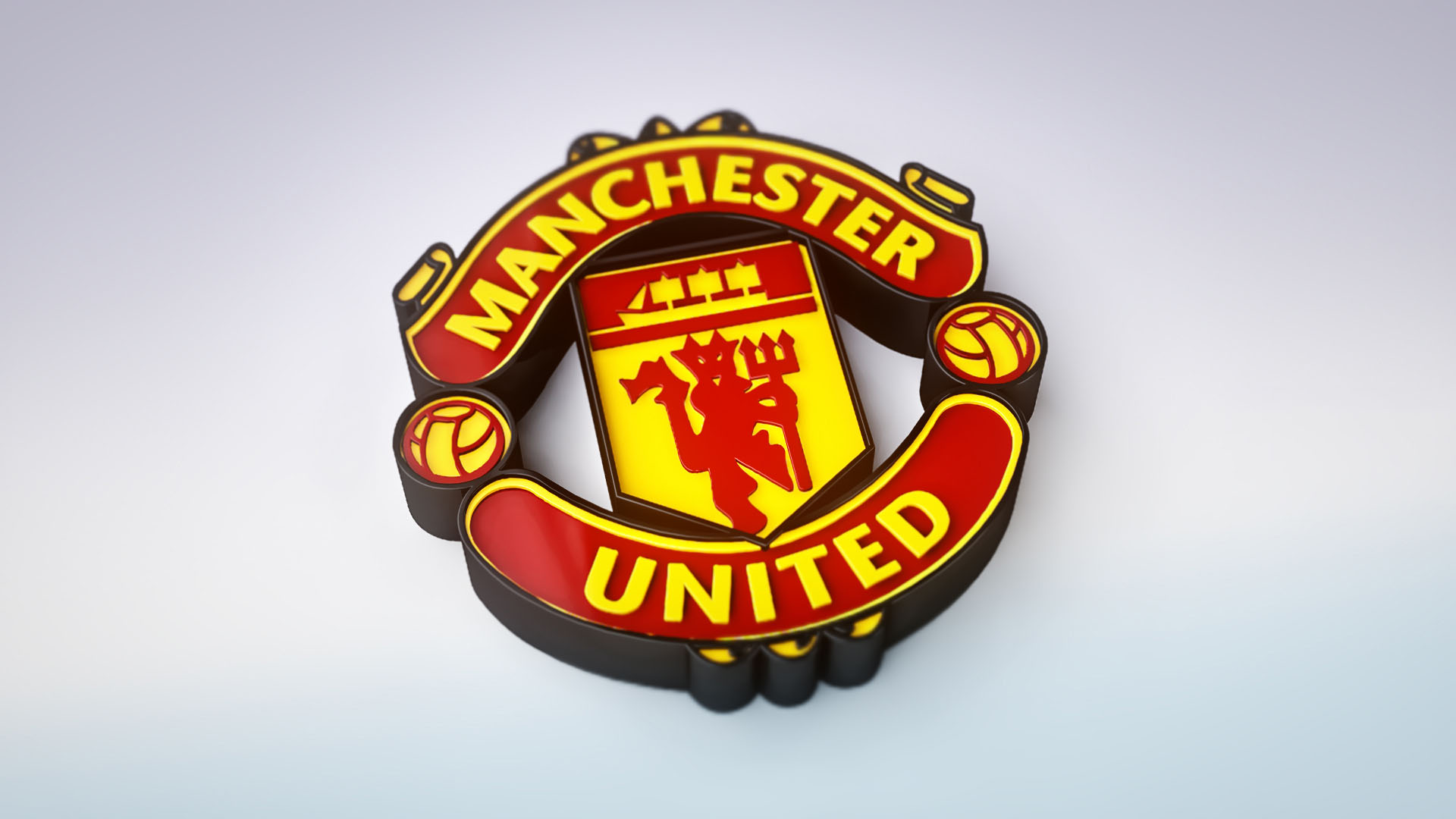 Manchester United wallpaper logo 3d
