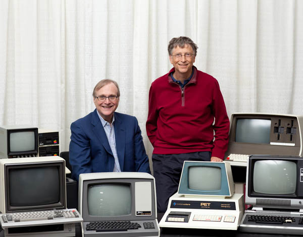bill gates and Paul Allen microsoft shares stocks price portfolio equity 2014 2015
