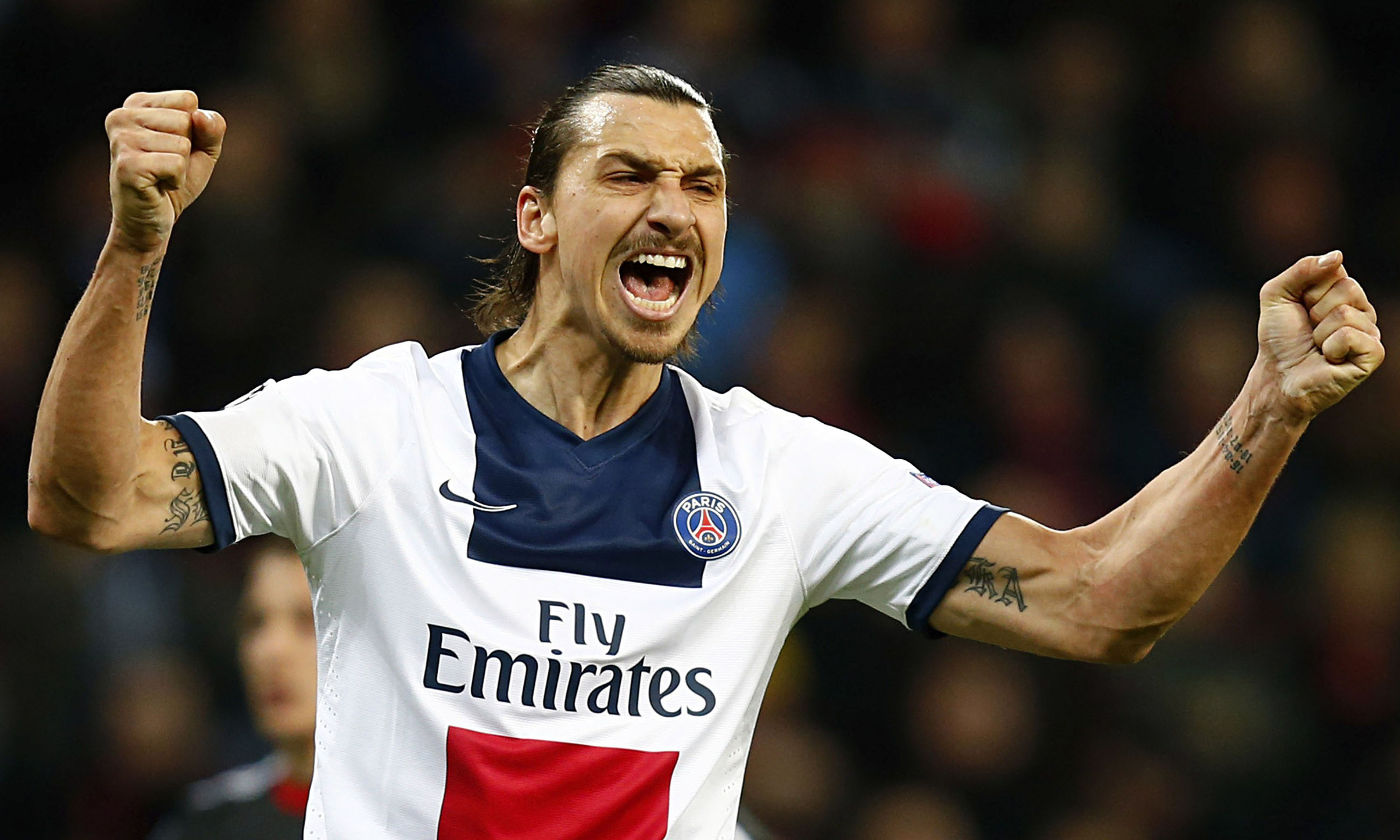 Top 10 highest paid footballers in the World in 2014 ... Zlatan Ibrahimovic 2014