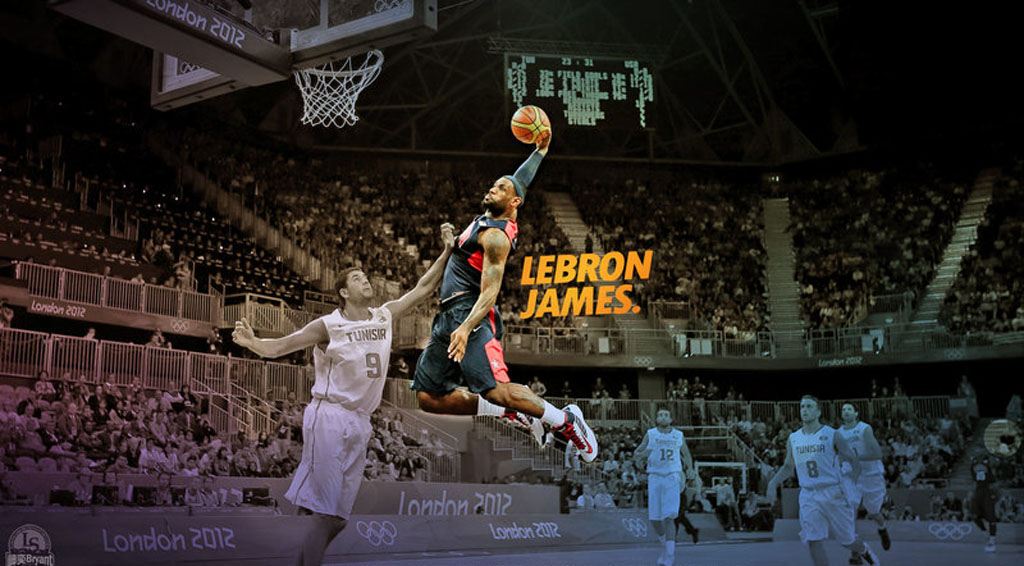 Lebron james salary in 2014 his new contract in cleveland lebron james dunking wallpaper voltagebd Images