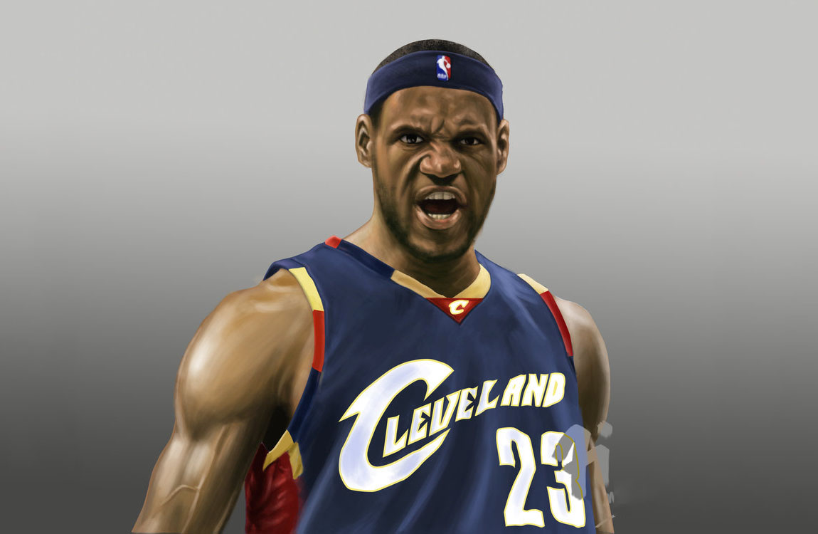 LeBron James Graphic Artwork Wallpaper
