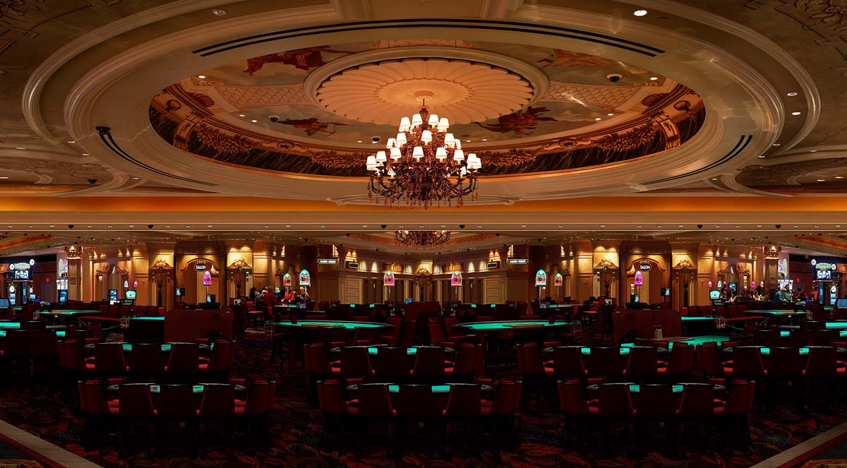Venetian Casino Black Jack tables