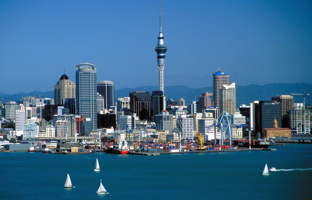 Auckland City, New Zealand - Wallpaper