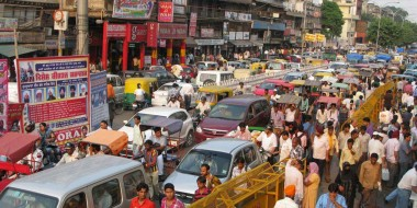 India at the top of the traffic-related death rate