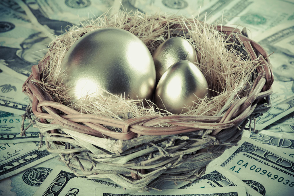 Savings by keeping all eggs in the same basket