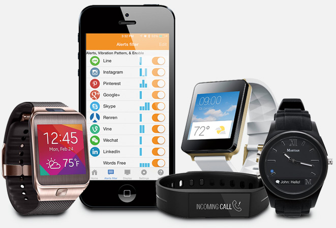 Smartphones and smartwatches choices for the future