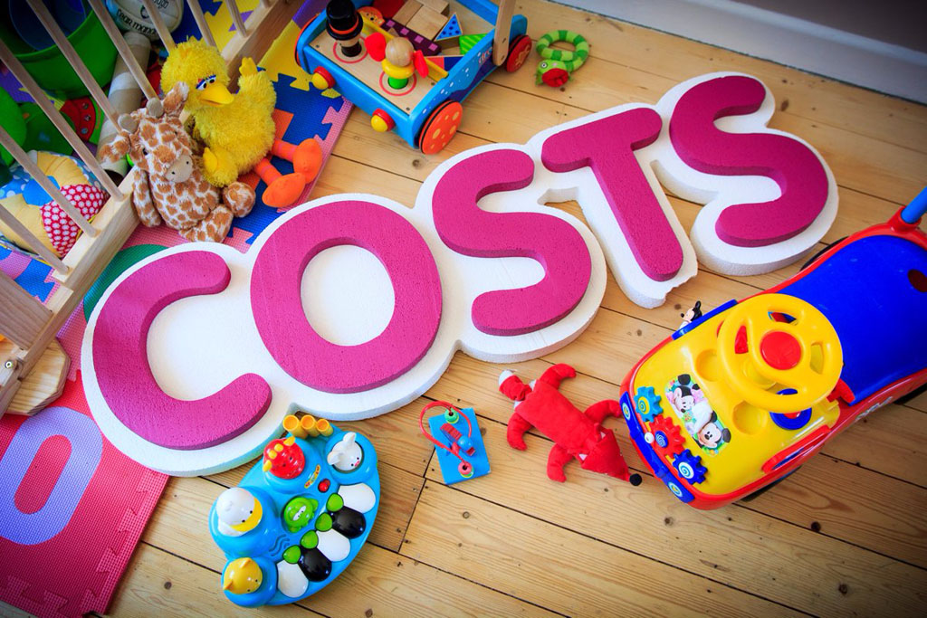 The costs of childcare