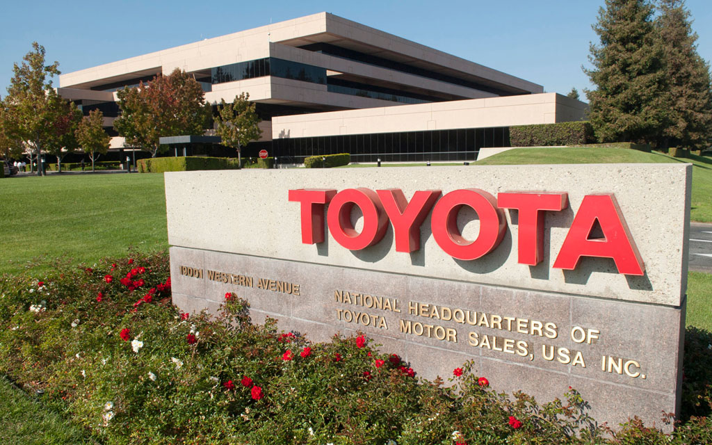 Toyota headquarters in California