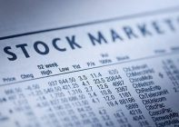 Stock markets listings in the newspaper