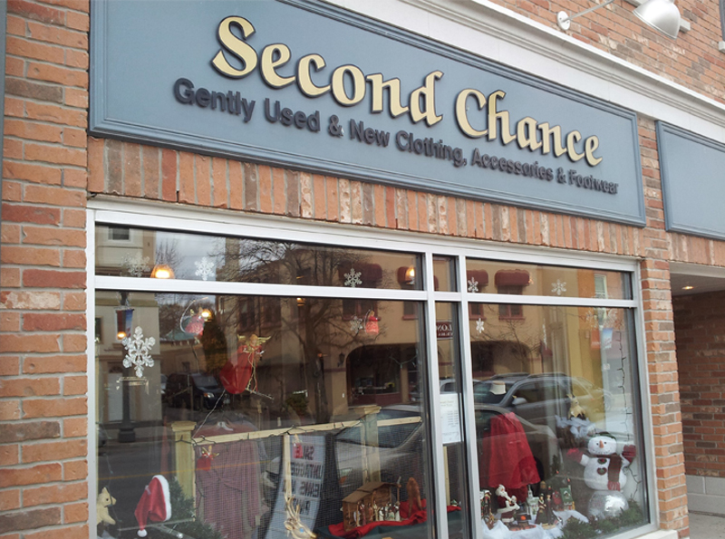 Second chance stores